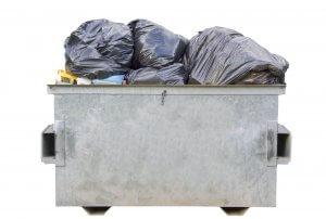 Scatter Trash Dumpster Odor Control Granule Pellets