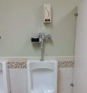 Odyssey Restroom Fan Air Freshener with Drip Application