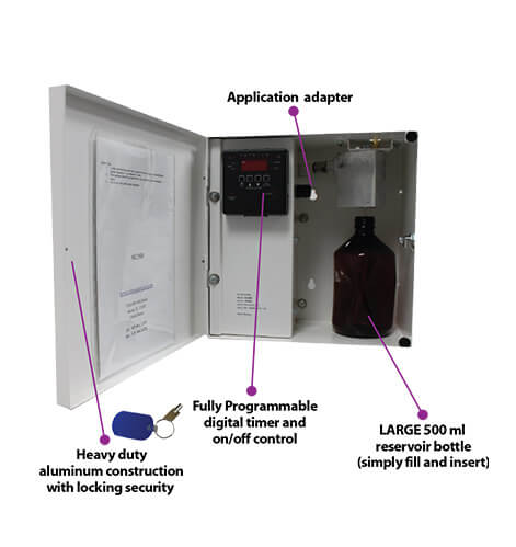 Large Area Commercial Hvac Air Freshener Systems Air Scent