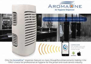Aroma One Restroom Hygiene Fan Air Freshener
