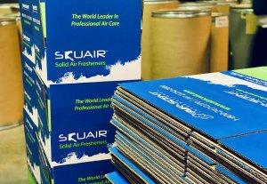 Squair Scent Wafer Packaging