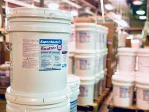 Scatter Odor Control Granules Dumpster