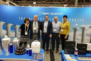 Arnold Zlotnik And Air Scent International Team Members